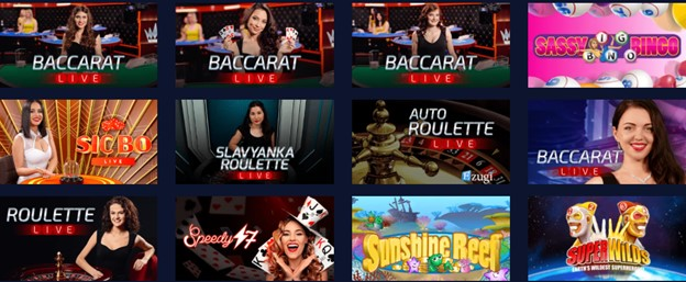 BetChain casino live dealer games