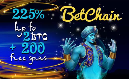 Betchain casino bonus
