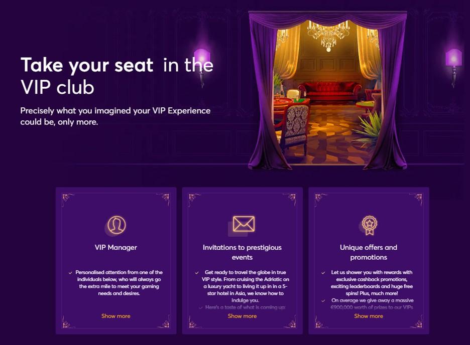 Bitcasino.io VIP Club promotions