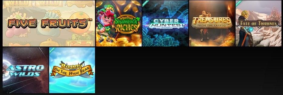CasinoFair casino games selection