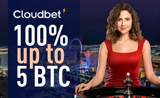 Cloudbet BTC bonus
