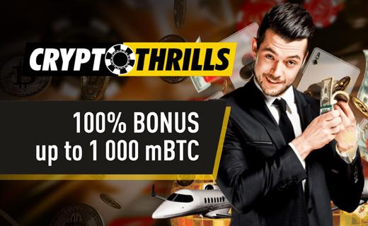 Cryptothrills casino bonus