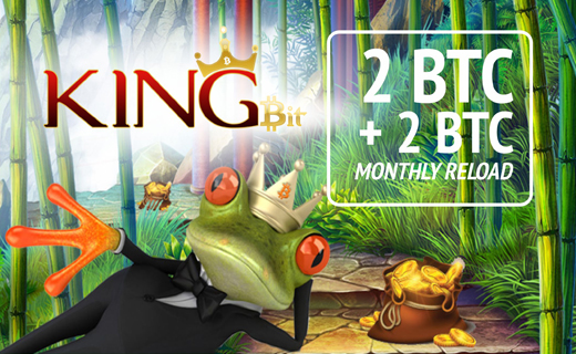 KingBit reload bonus