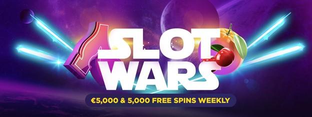 Slot Wars weekly bonus