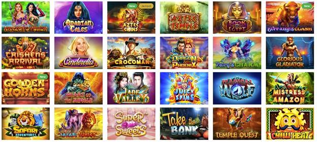 Slot games on Kingbit casino