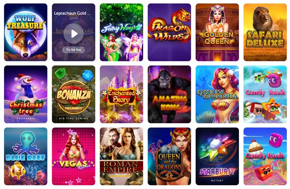 Slot games on TrueFlip casino