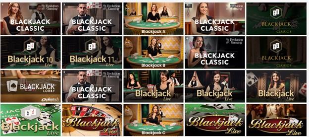Table games on PlayAmo Casino