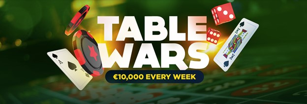 Table Wars weekly promotion