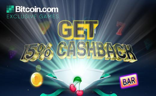 Bitcoin.com games cashback