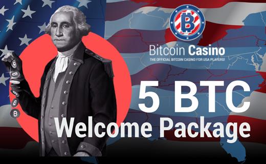 Bitcoincasino.us welcome bonus 1