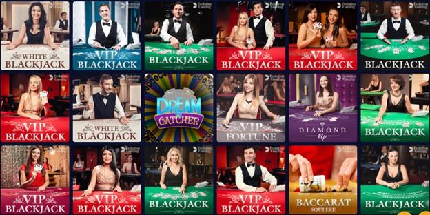mBit Casino Live Dealer games