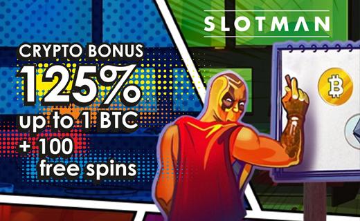 Slotman free spins