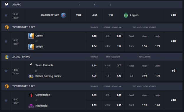GG.BET esports betting