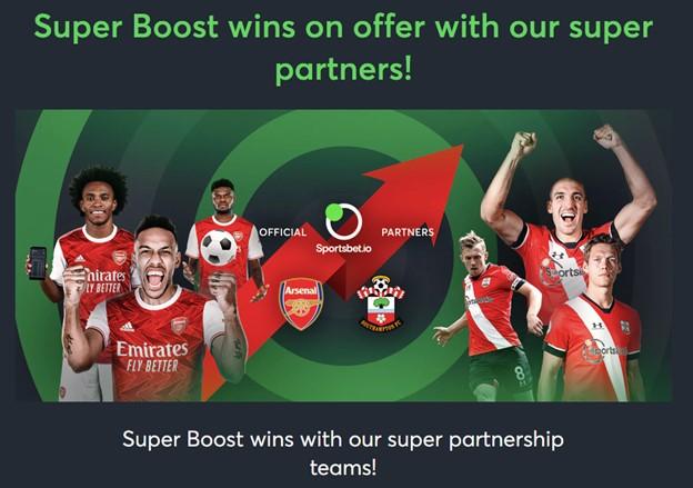 Sportsbet.io Super Boost promotion