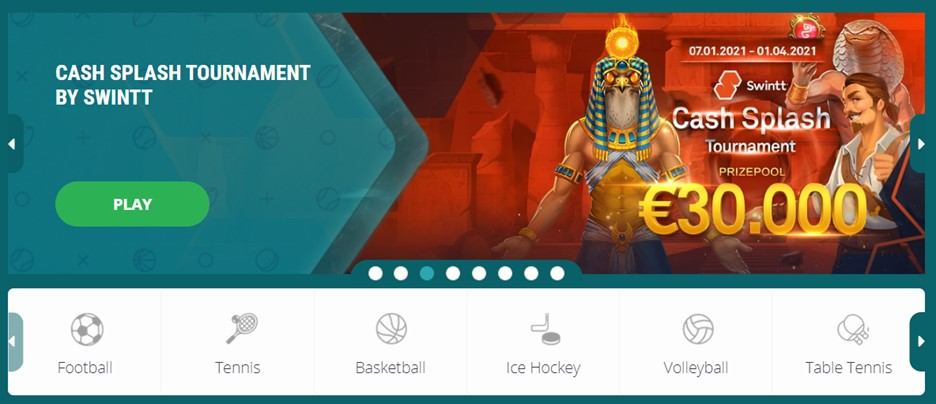 Sports betting with 22BET