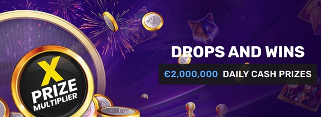 Daily cash prizes on Winz.io