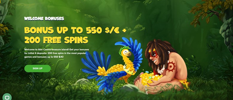 Abo casino bonuses and promotions