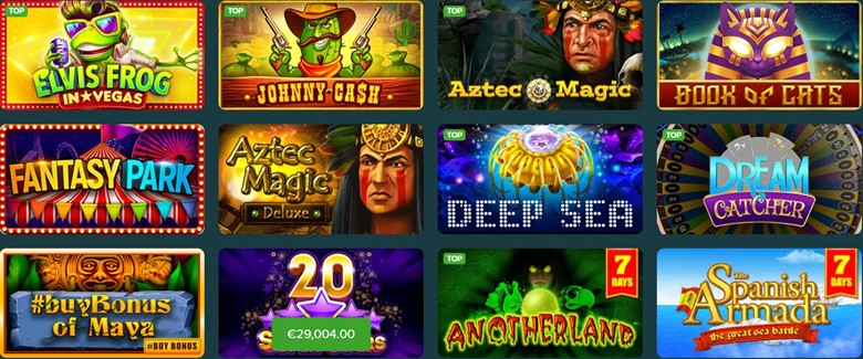 Slot games you can play on Abo Casino