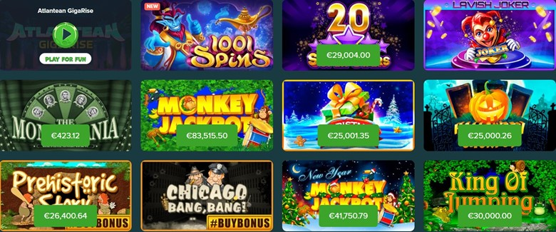 Abo Casino games with jackpot
