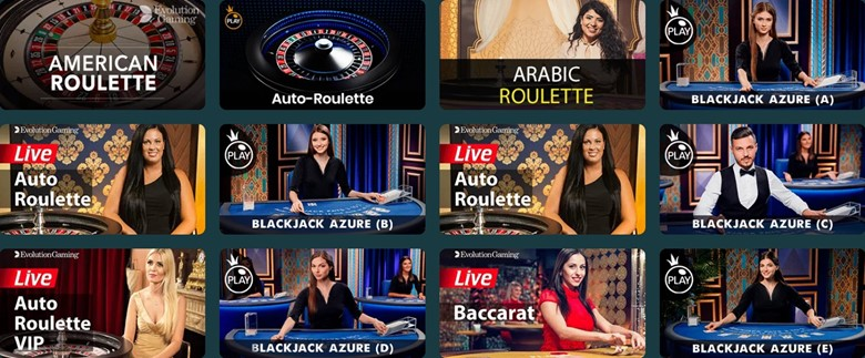Abo Casino live table games