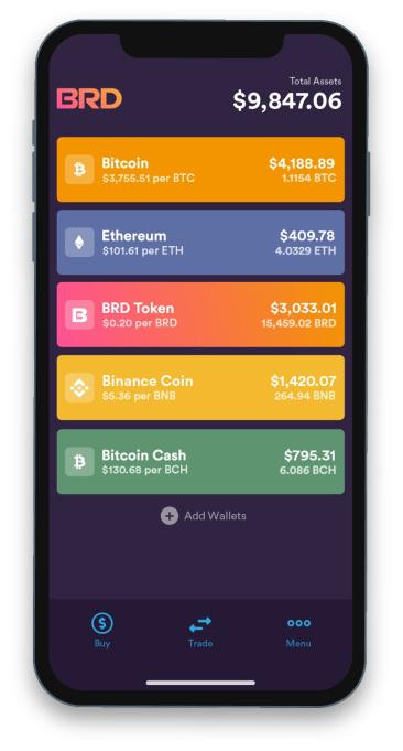 BRD App Wallet