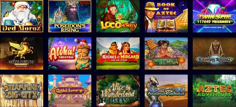 Slot games on Wild Tokyo Casino