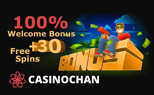 Casinochan casinobonus