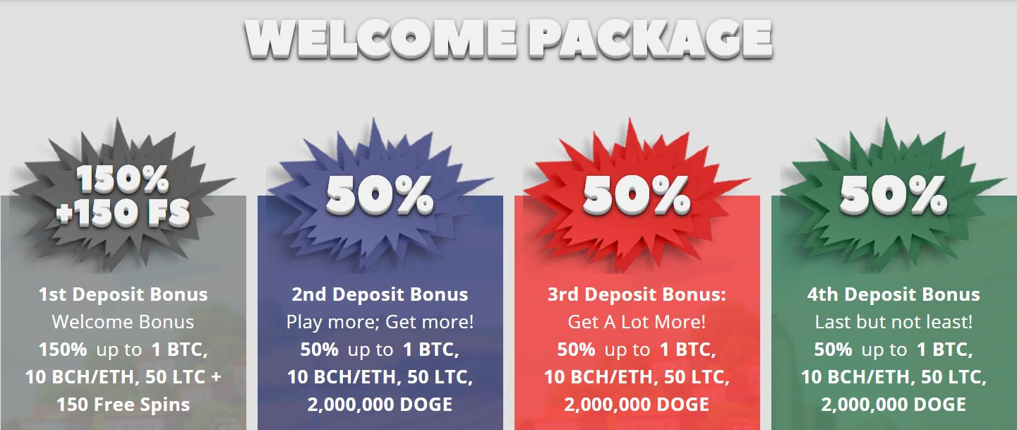 crypto wild welcome package