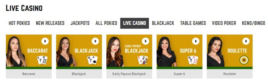 joe fortune live casino