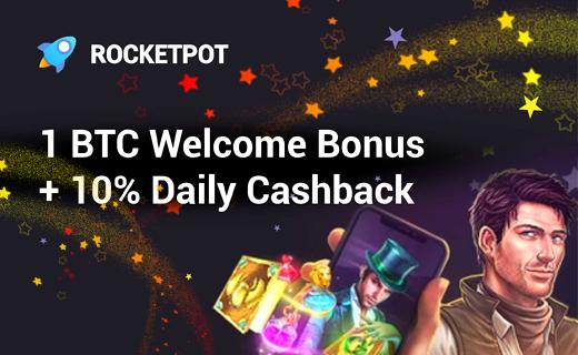 Rocketpot crypto casino