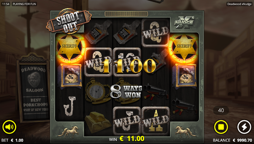 Deadwood slot free spins